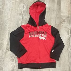 Husker Hooded Seeatshirt